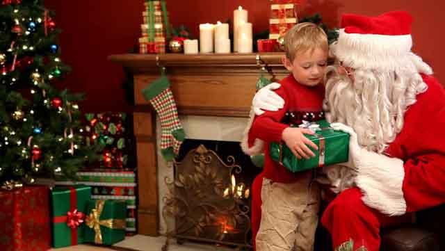 Dọa trẻ bằng... ông già Noel có tác dụng rất hiệu quả