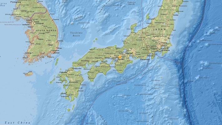 Nhật Bản: Osaka động đất