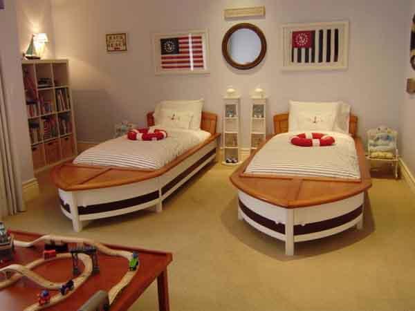 Một số gợi ý thiết kế phòng ngủ cho bé trai