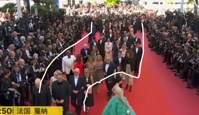 """Nhiều khách quốc tế """"né"""" Phạm Băng Băng tại Cannes"""