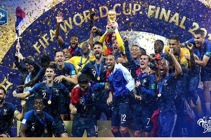 Thắng thuyết phục, người Pháp xứng đáng vô địch thế giới sau 20 năm