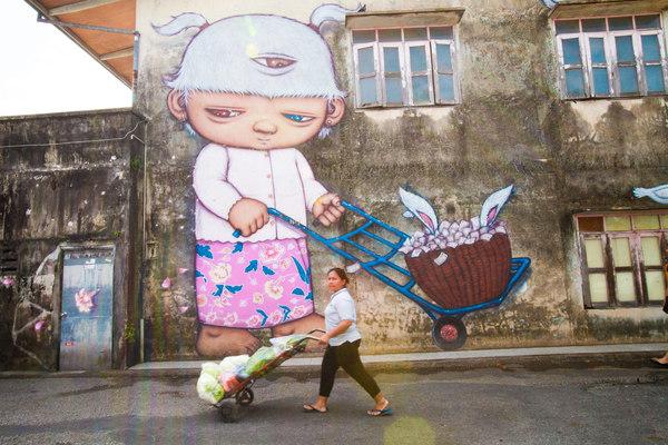 Khám phá phố cổ trăm tuổi ở Thái Lan