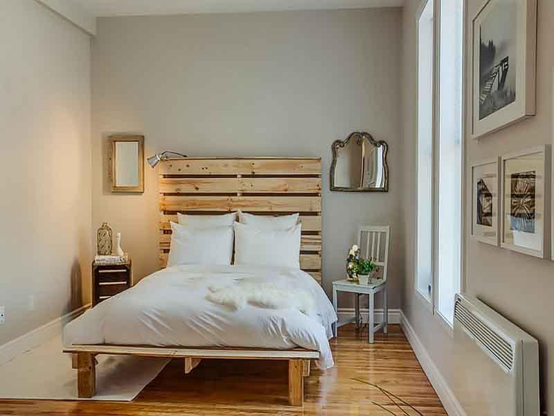 Một số cách tiêu biểu giúp cho phòng ngủ rộng thoáng