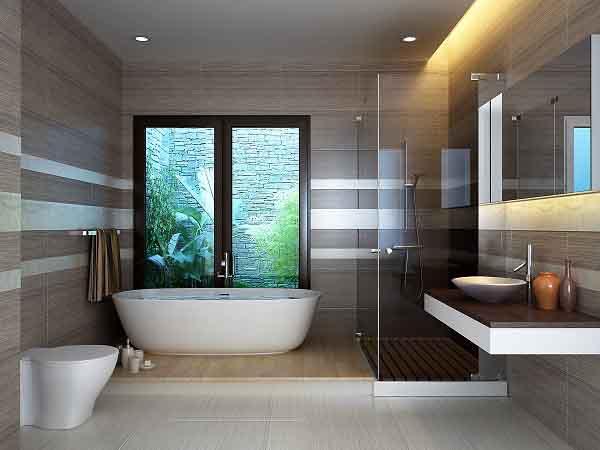 Phòng tắm rộng và đẹp hơn với những mẹo nhỏ