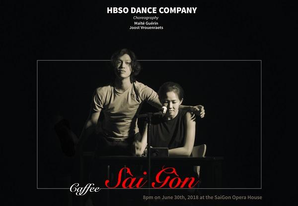 Múa đương đại Café Saigon trở lại tại nhà hát Thành phố