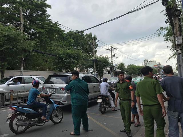 TP.HCM: Một vụ nổ xảy ra tại trụ sở công an