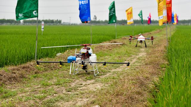 Máy bay phun thuốc không người lái ở Bắc Ninh