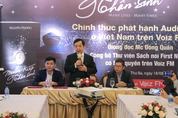 Phát hành sách nói 'Muôn kiếp nhân sinh' tại Việt Nam