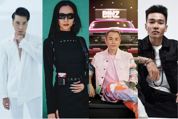 'Soi' gout thời trang của bộ tứ quyền lực Rap Việt