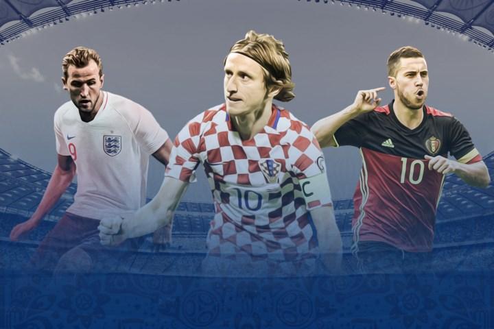 5 ứng viên Quả Bóng Vàng World Cup 2018 có 3 người của Đội tuyển Pháp