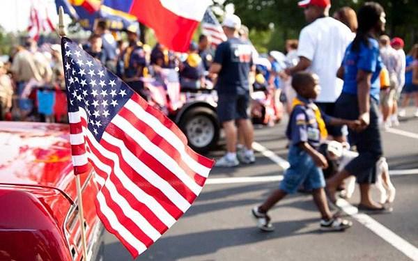 Người dân Mỹ tưng bừng kỷ niệm Ngày Quốc khánh lần thứ 242