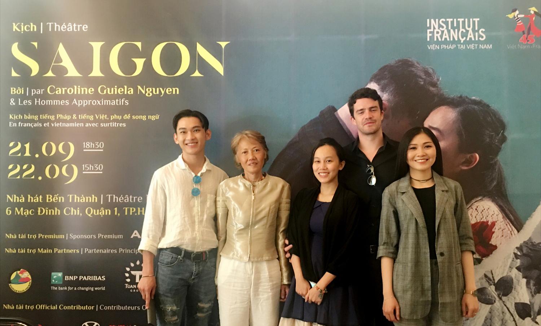 """Công chiếu vở kịch """"Sài Gòn"""" của đạo diễn người Pháp tại TP. HCM"""
