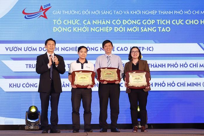 TP Hồ Chí Minh trao giải Đổi mới sáng tạo và khởi nghiệp 2018