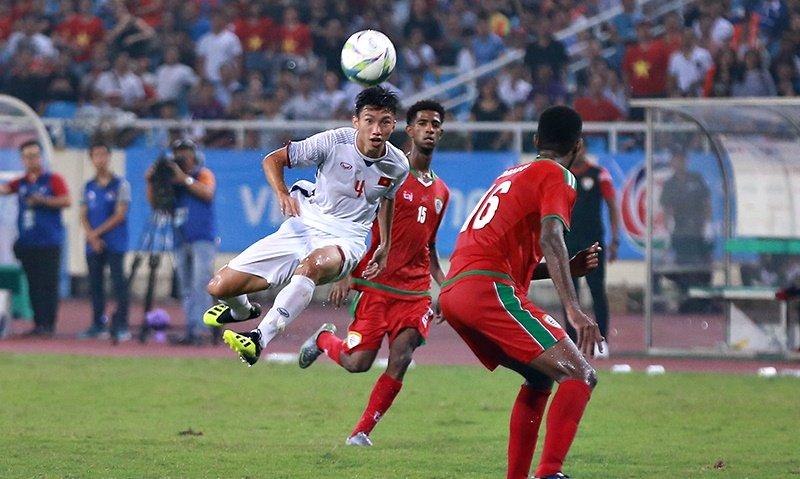 Siêu phẩm của Đoàn Văn Hậu vào lưới U23 Oman, giúp U23 Việt Nam chiến thắng