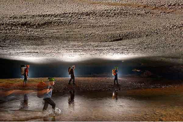 Những bức ảnh tuyệt đẹp tại Sơn Đoòng – hang động kỳ vĩ bậc nhất thế giới