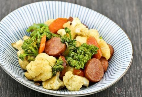 Ngon và bổ dưỡng với món súp lơ xào