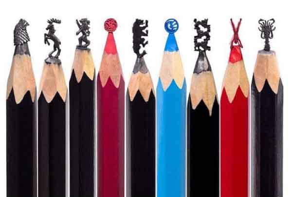Nghệ thuật trên đầu bút chì - Không chỉ là đỉnh cao của sự tinh tế