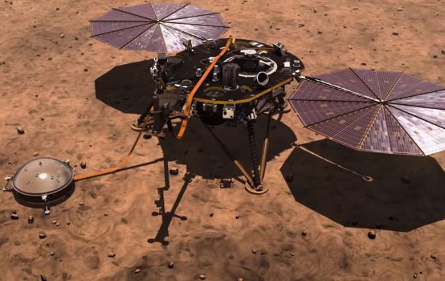 '7 phút kinh hoàng', tàu InSight của NASA đã hạ cánh xuống bề mặt sao Hỏa