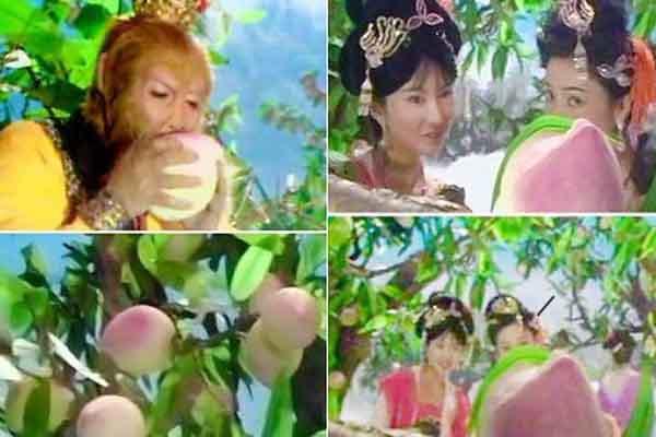 Bí mật vườn Đào Tiên khổng lồ trong phim Tây Du Ký