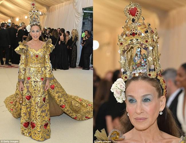 Thảm họa thời trang tại Met Gala
