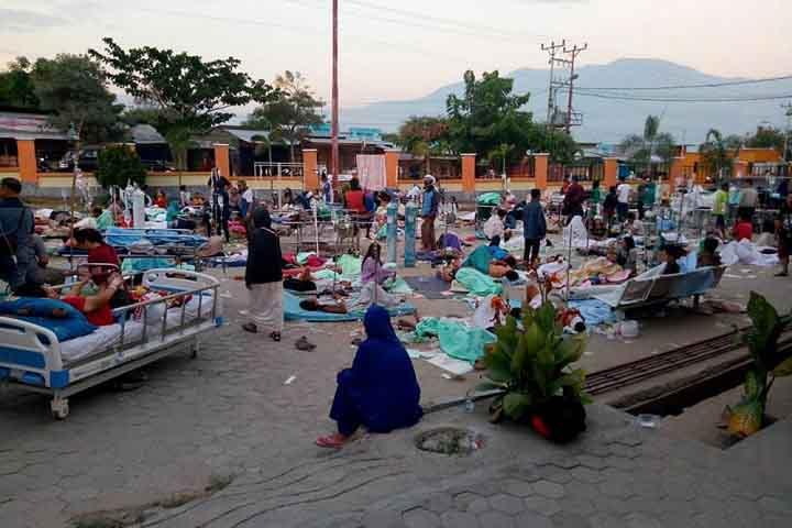 Thảm họa động đất, sóng thần số người thiệt mạng tăng lên 420 ở Indonesia