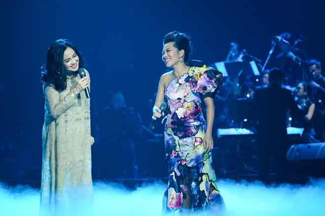 Trần Thu Hà là khách mời duy nhất ở liveshow ca sĩ Thanh Lam