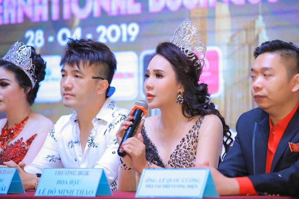 Hoa hậu Doanh nhân quốc tế 2018 Lê Đỗ Minh Thảo đồng hành cùng 'Ms International Business 2019'