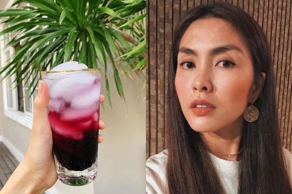 Học sao Việt làm đẹp với 3 loại thức uống rẻ tiền cho mùa hè