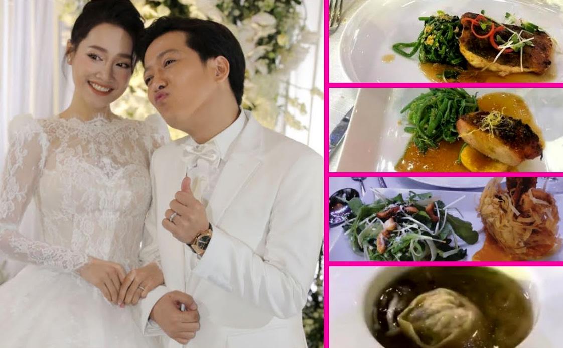 Thực đơn tiệc cưới sao Việt người sang trọng, người bình dân bất ngờ