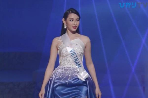 Thùy Tiên không có tên trong top 15 Hoa hậu Quốc tế 2018