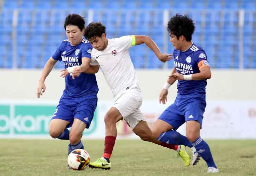 Đại học Hanyang lùi bước trước FK Sarajevo