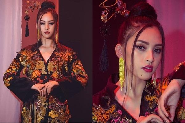 Trần Tiểu Vy tỏa sáng trong phần thi tài năng Miss World 2018