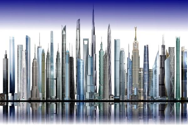 Danh sách Top 15 tòa nhà chọc trời cao nhất thế giới