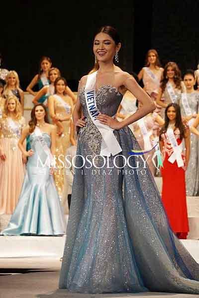 Thùy Dung trượt top 15, người đẹp Indonesia đăng quang Hoa hậu Quốc tế 2017
