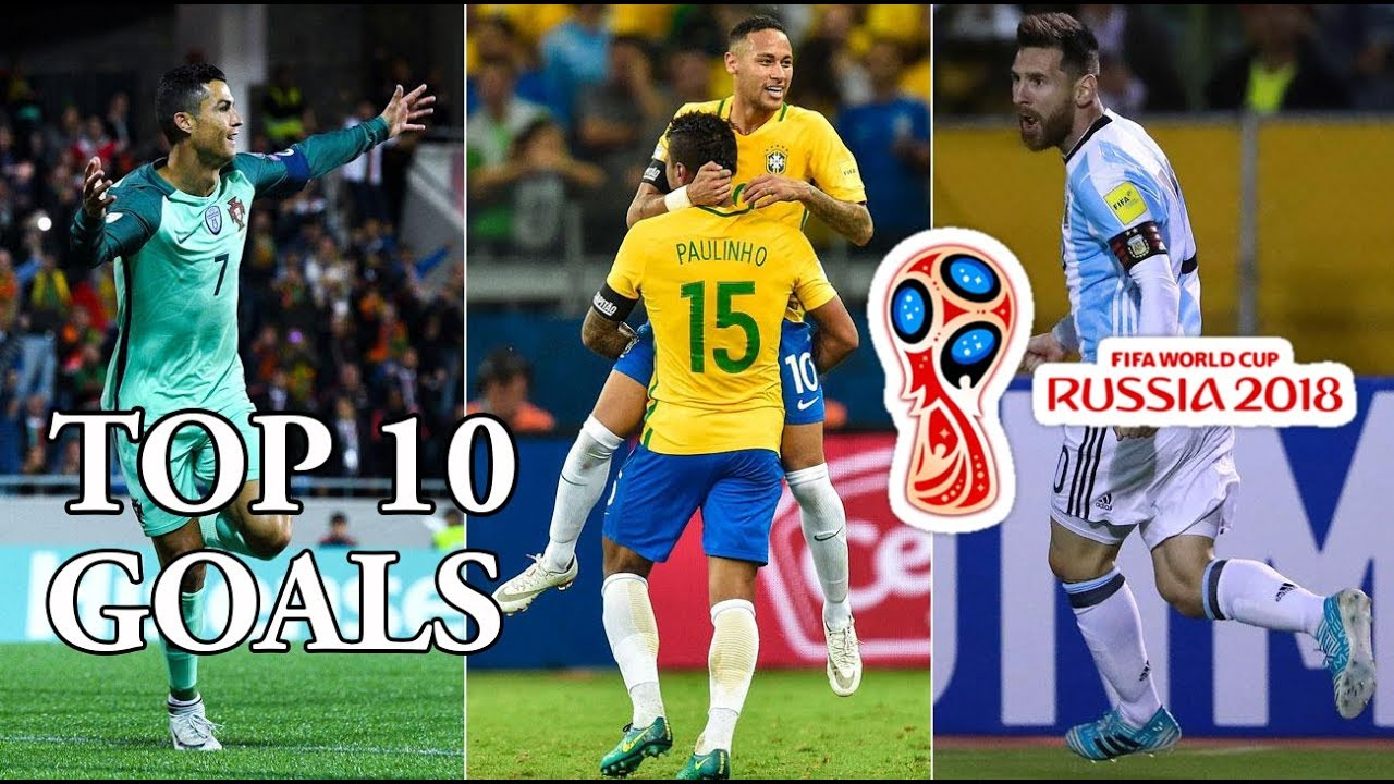 """""""Zoom"""" lại 10 bàn thắng đẹp nhất World Cup 2018"""