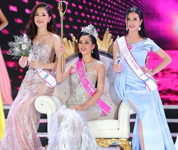 Trần Tiểu Vy - nữ sinh 18 tuổi đăng quang hoa hậu Việt Nam 2018