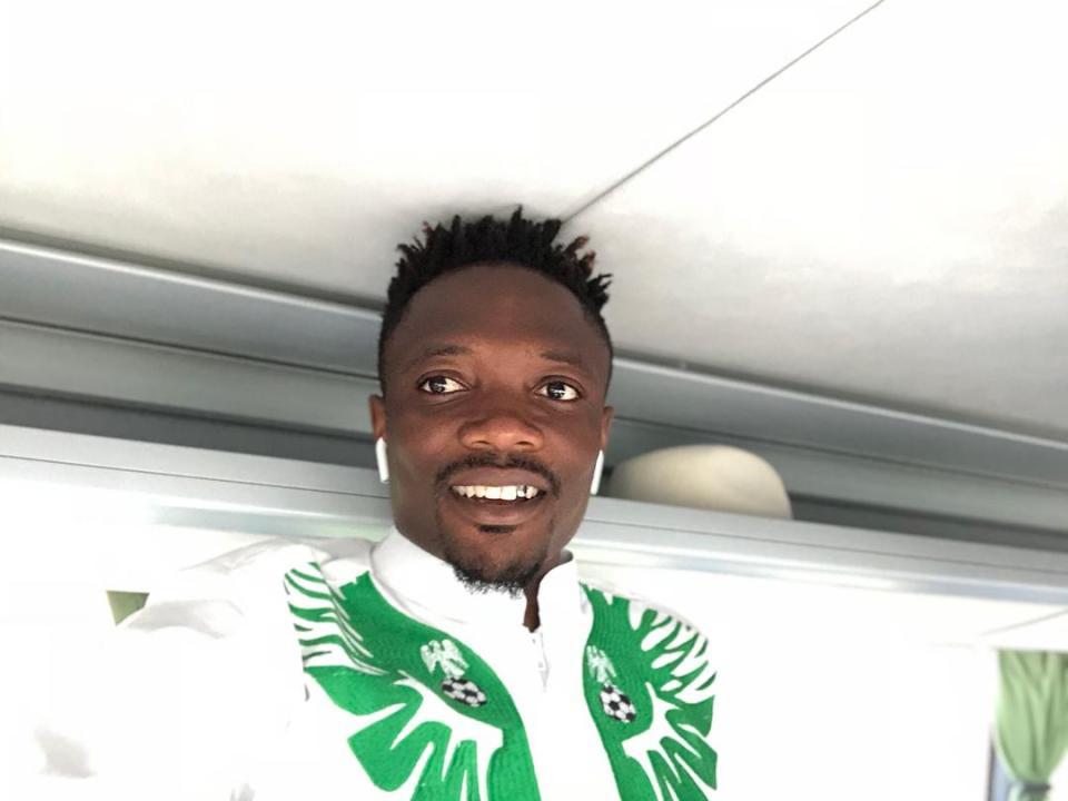 Trang phục ấn tượng của Nigeria đến World Cup