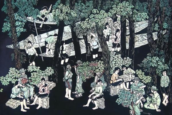 Triển lãm tranh online: Tìm yên bình trong sự tàn khốc chiến tranh