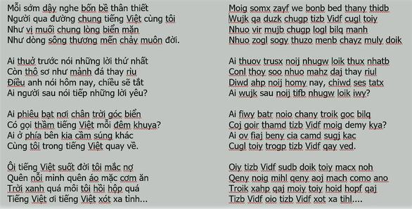 Chữ Việt Nam song song: Dư luận quay lưng gay gắt