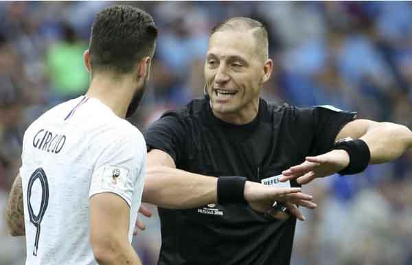 Trọng tài Argentina bắt chính trận chung kết World Cup 2018