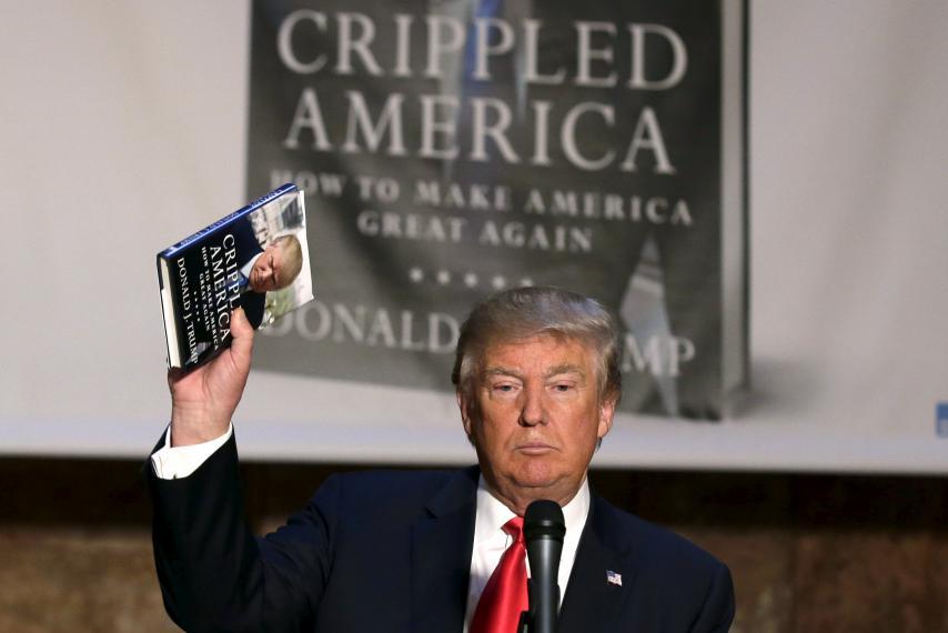 Ông Trump sẽ viết một cuốn sách thú vị