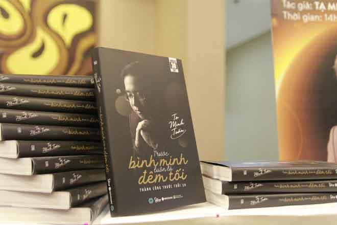 """""""Trước Bình Minh Luôn Là Đêm Tối"""" - quyển sách dành cho những ước mơ táo bạo"""