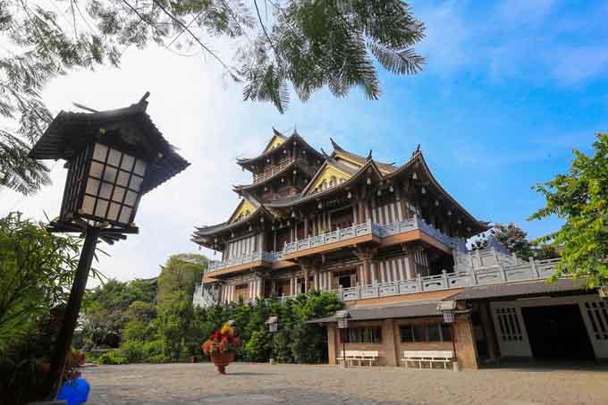 Tu viện phong cách Nhật ở Sài Gòn