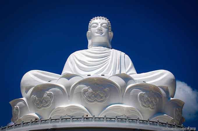 Ở Bình Định đã có tượng phật ngồi lớn nhất Đông Nam Á