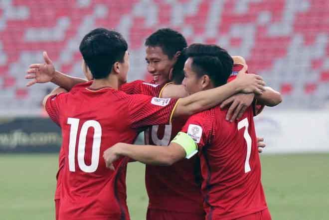 Việt Nam chạm trán Thái Lan ở vòng chung kết Asian Cup 2019?