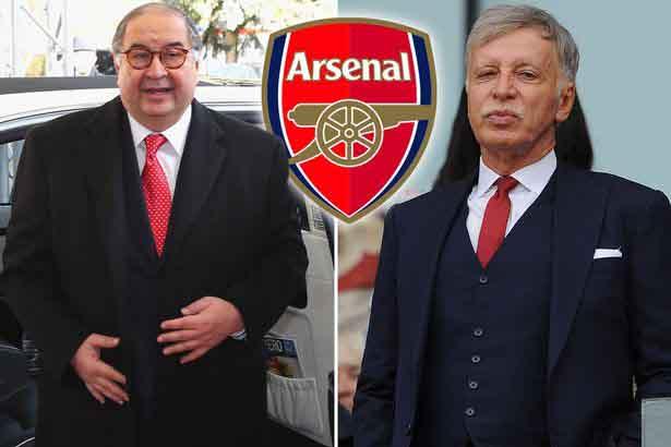 Tỷ phú Mỹ chiếm giữ 97% cổ phiếu, Arsenal được định giá 1,8 tỷ bảng