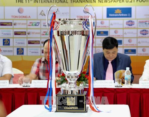 Giải U21 quốc tế báo Thanh Niên: Đội vô địch sẽ được nhận 12.000 USD