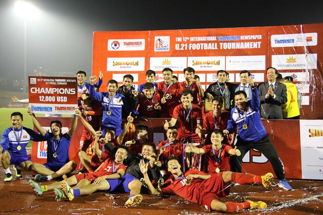 Việt Nam đăng quang U.21 quốc tế sau loạt sút luân lưu nghẹ thở