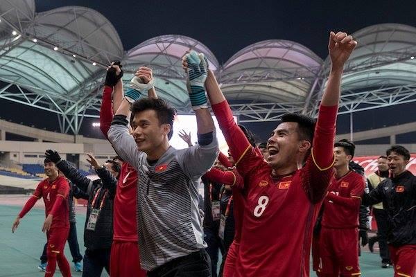 Cảm ơn các chàng trai áo đỏ, cảm ơn HLV Park Hang Seo!