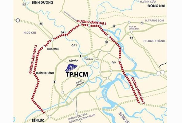 TP HCM muốn sử dụng gần 3.000 tỷ làm nhanh đường Vành đai 3